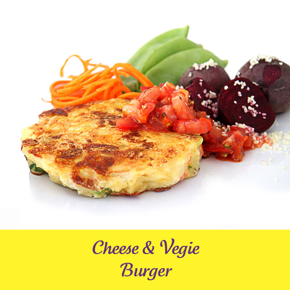 Vegie Magic Cheese and Vegetable Burger