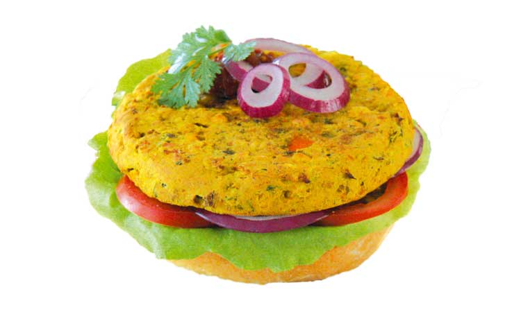 Vegie Magic Curry Chickpea and Lentil Burger