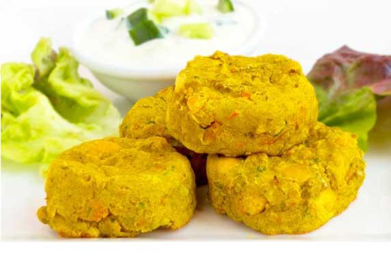 Vegie Magic Curry Chickpea Bites