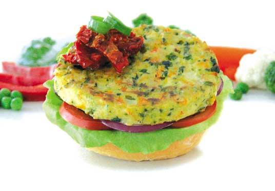Vegie Magic Vegie Combo Burger